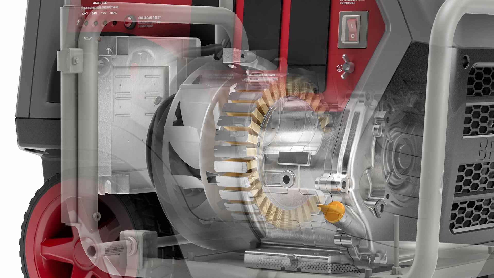 Q6500 QuietPower™ Series Inverter Generator