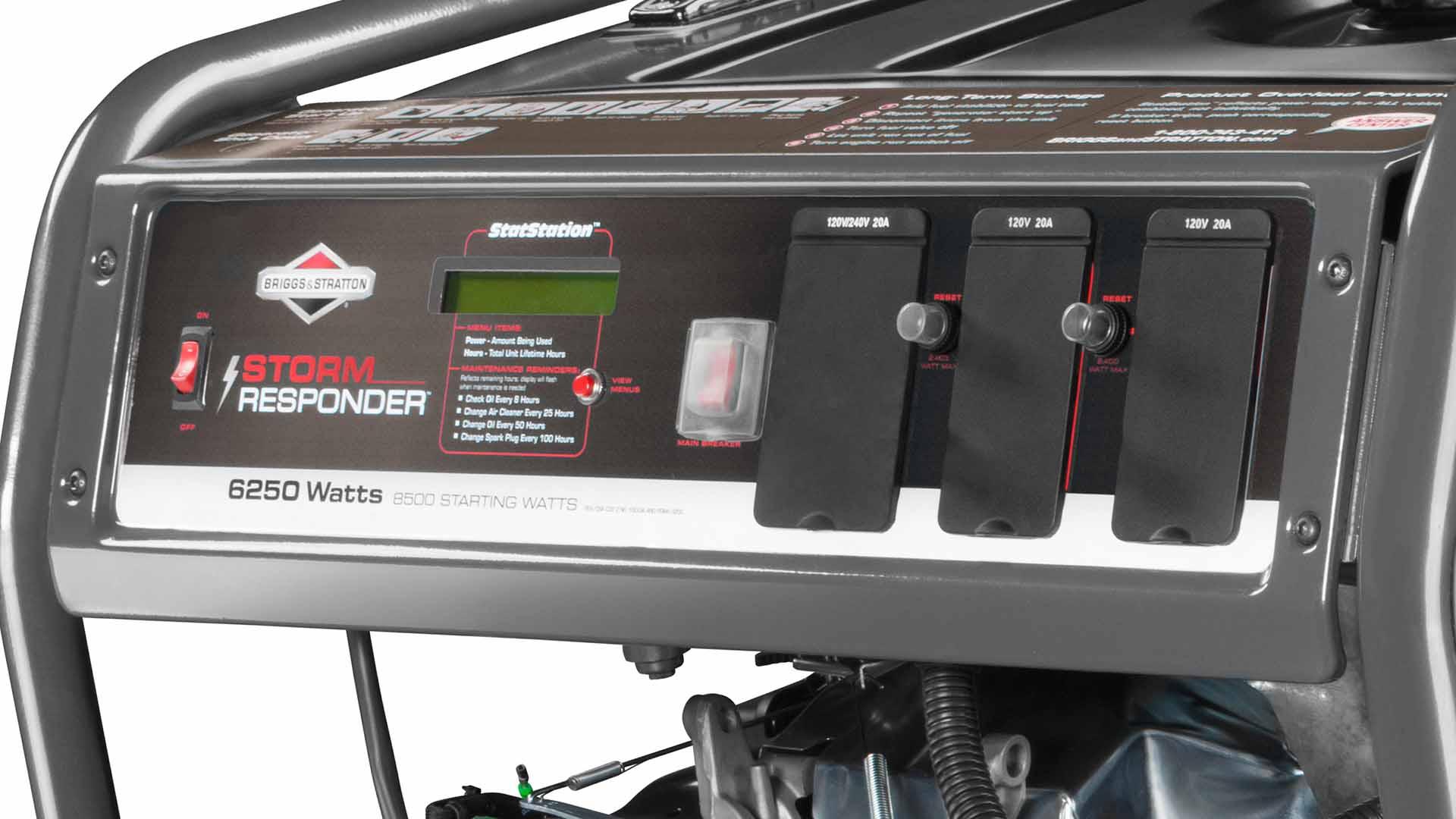 Multi-Featured Control Panel