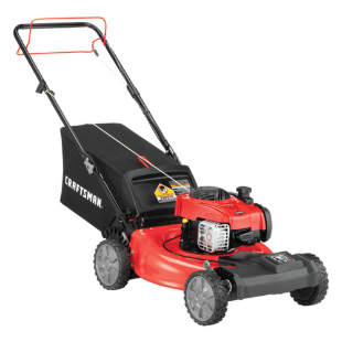 "Craftsman 21"" 1-Step Start Self-Propelled..."
