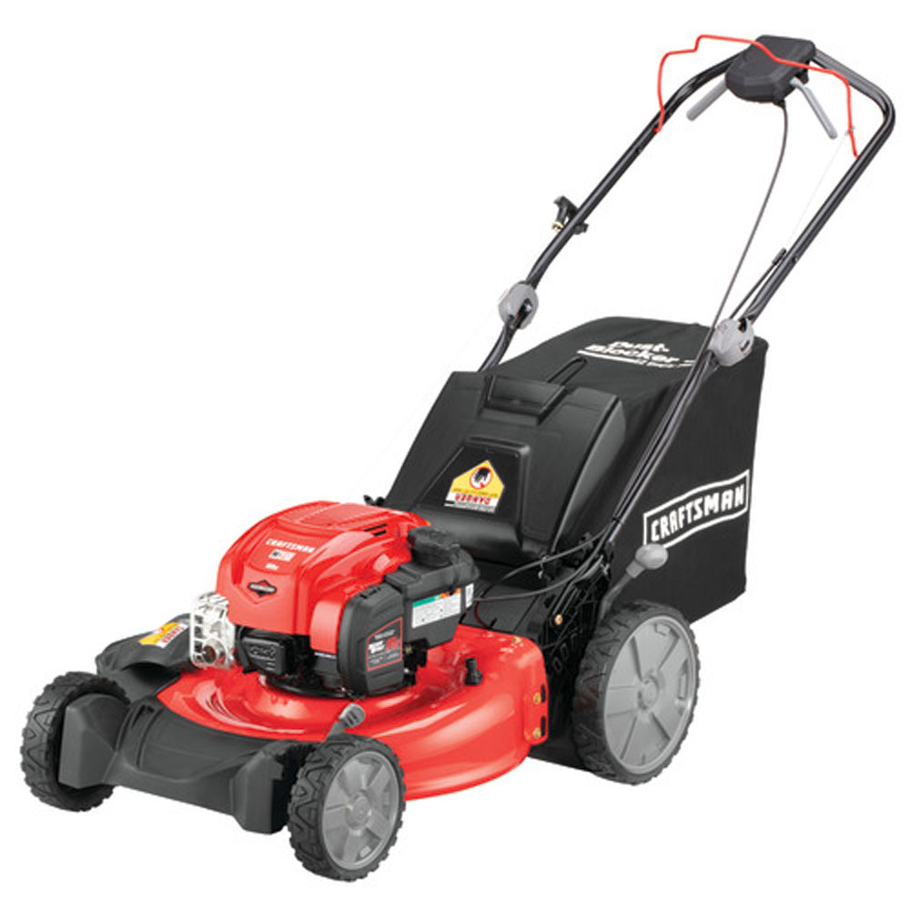 Craftsman 21 SelfPropelled Lawn Mower with Added Traction
