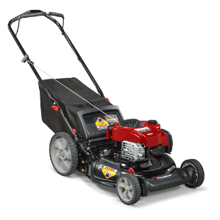 "Murray 21"" Lawn Mower with Mulching, Rear Bag and Side Discharge"