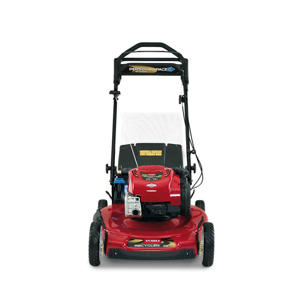 Toro Recycler 22 Self Propelled Personal Pace Lawn Mower