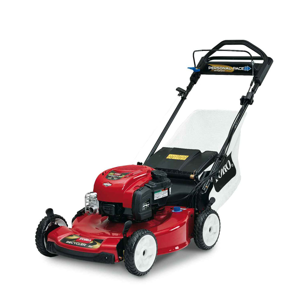 Toro Recycler 22 Personal Pace Blade Stop Lawn Mower