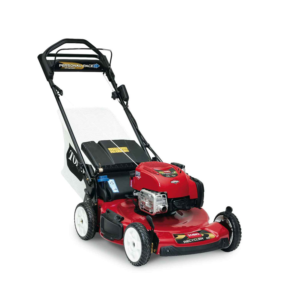 "Toro Recycler 22"" Self-Propelled Lawn Mower with Electric Start"