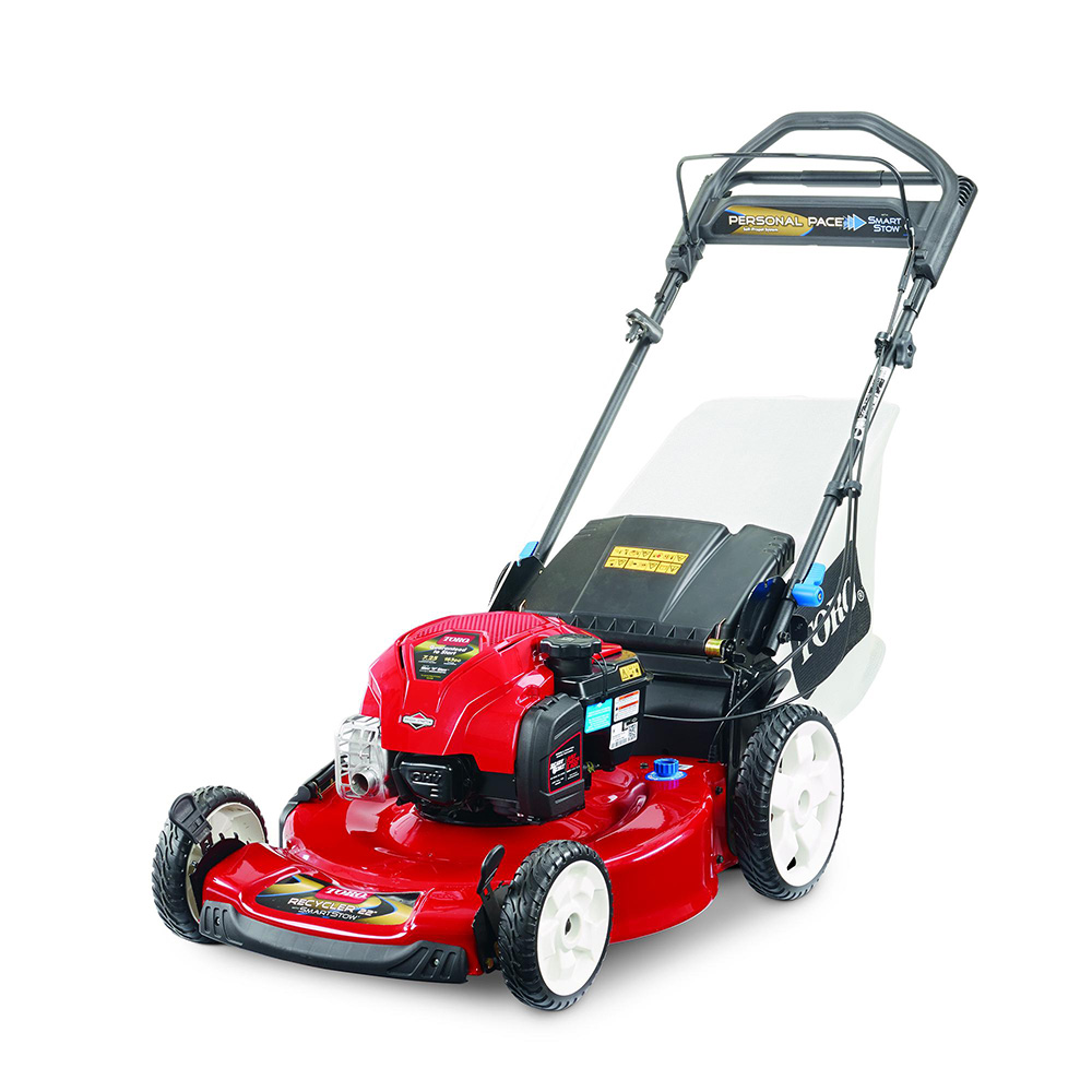 Toro Recycler 22 SelfPropelled SMARTSTOW Personal Pace Lawn Mower