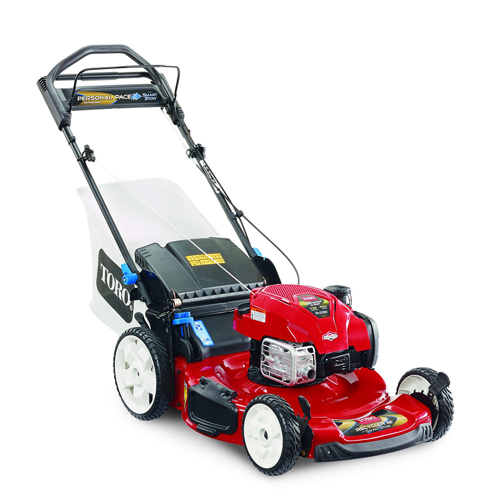 "Toro Recycler 22"" Self-Propelled SMARTSTOW® Personal Pace® Lawn Mower"