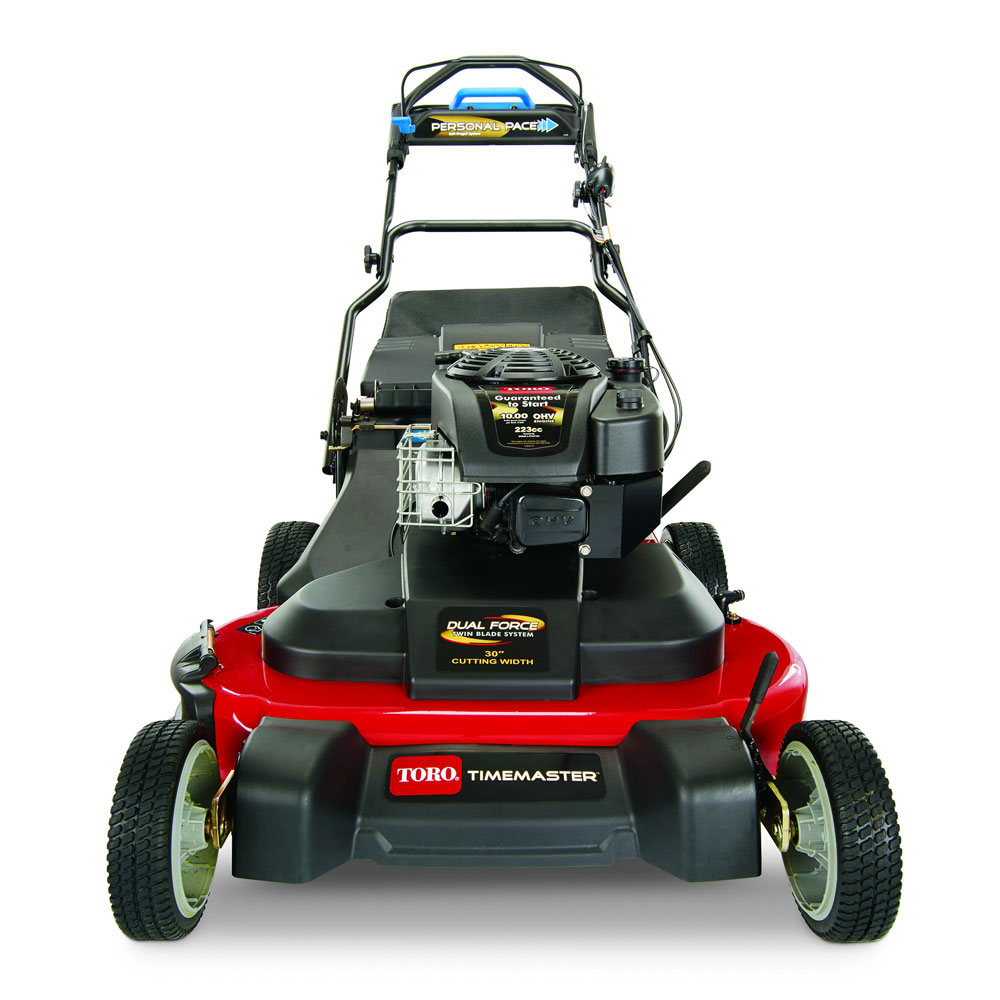 Toro Timemaster 30 Self Propelled Lawn Mower With Electric Start