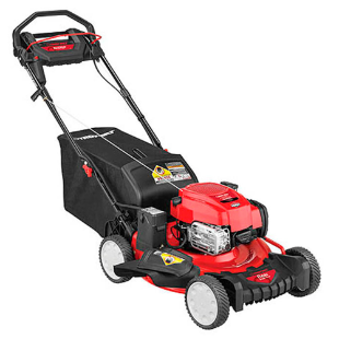 "Troy-Bilt 21"" Self-Propelled Lawn Mower with Electric Start"