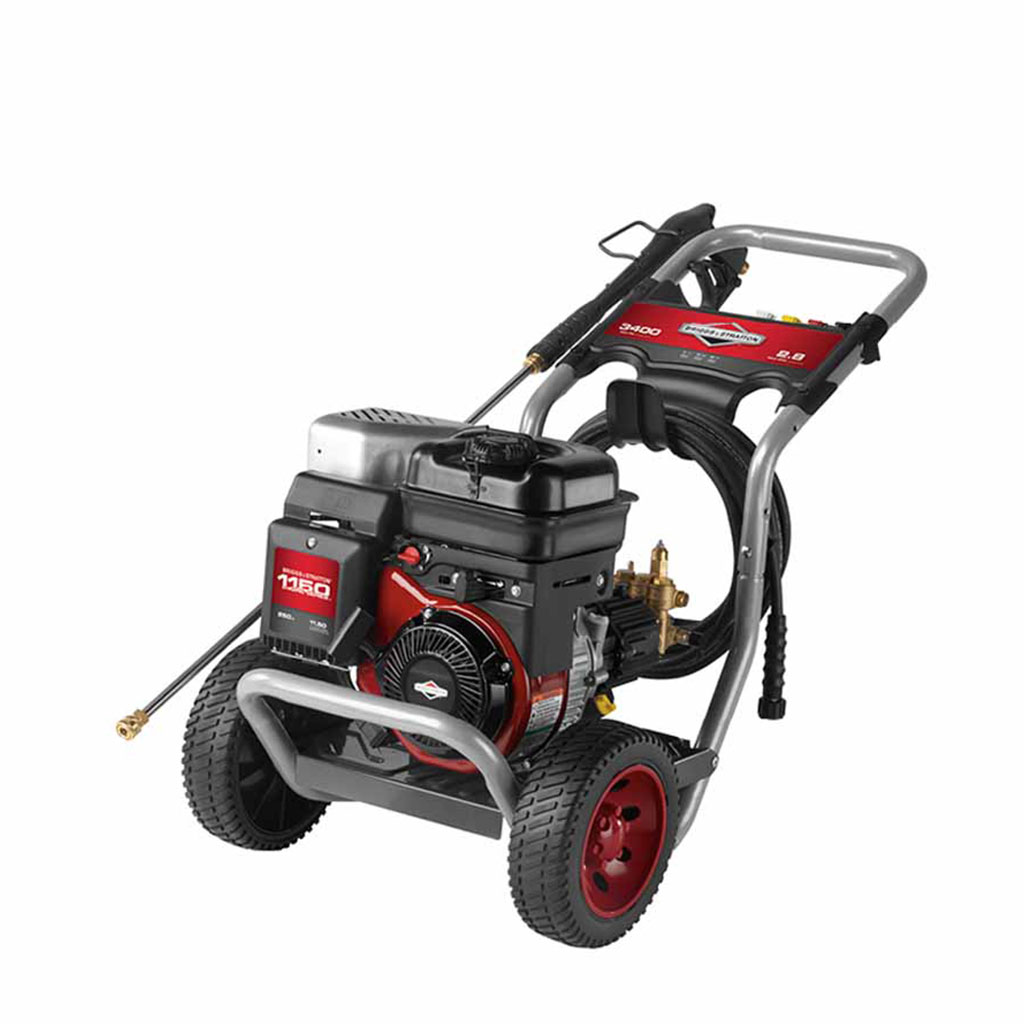 Briggs & Stratton 3400 Max PSI / 2.8 Max GPM Gas Pressure Washer