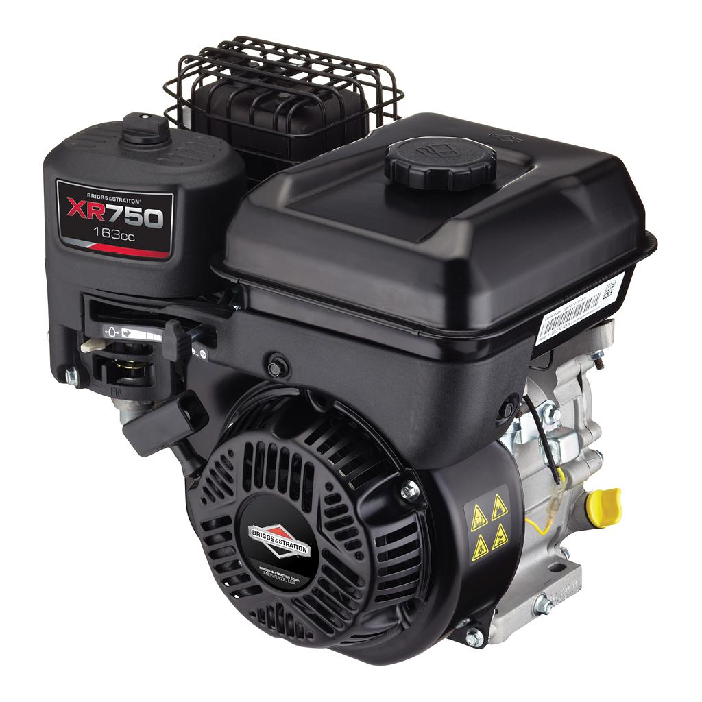 Briggs /& Stratton XR750 Series 163cc 5hp Horizontal Gas Engine 106232-0027-F1