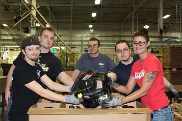 百力通美国肯塔基工厂生产出第 8500 万台发动机