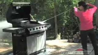 Cleaning Grills with a Pressure Washer | Briggs...