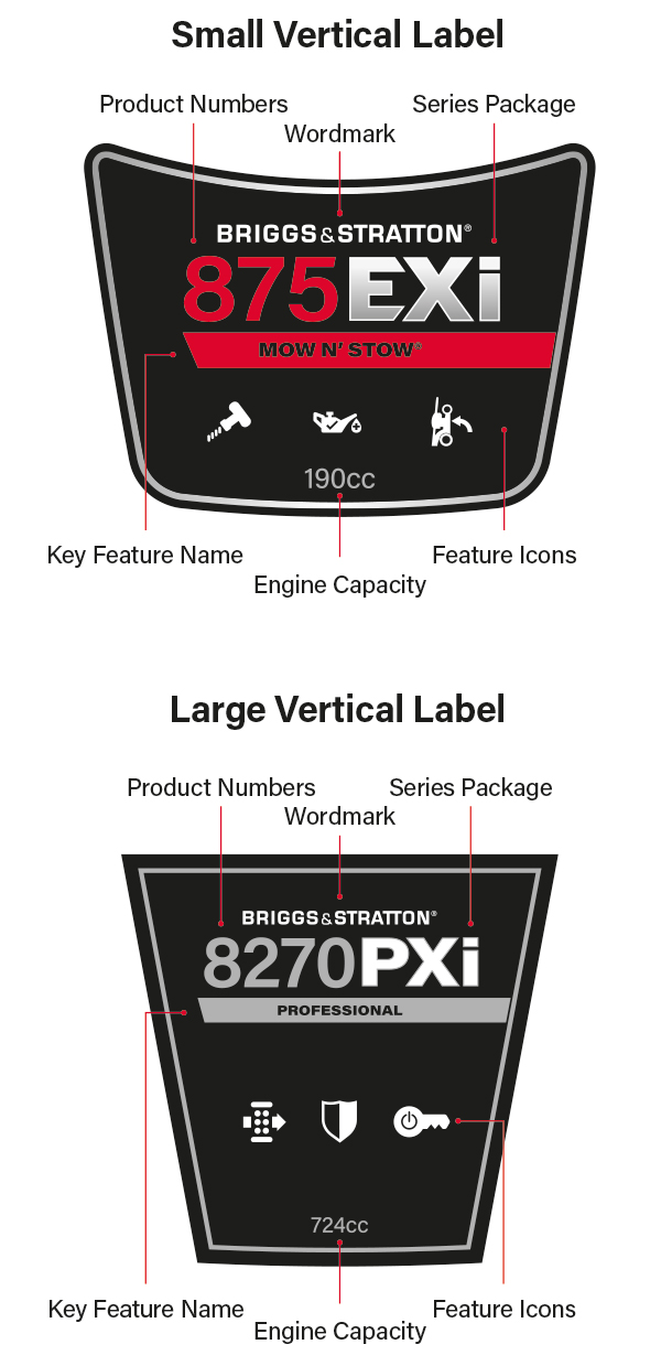 Engine Labels Examples