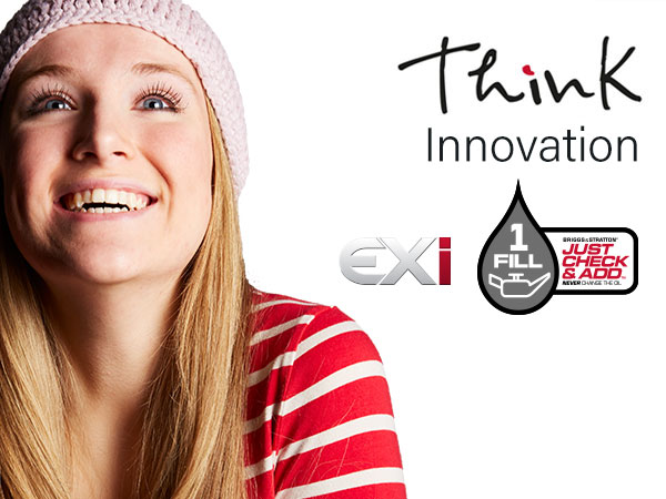 Think rasenmäher innovation: EXi