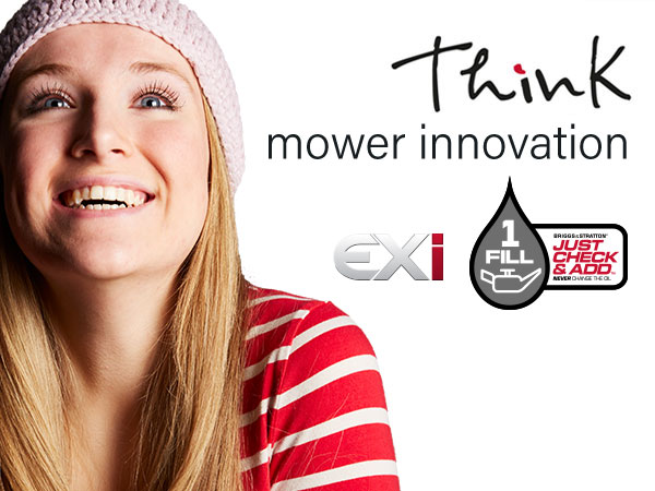 Think mower innovation: EXi