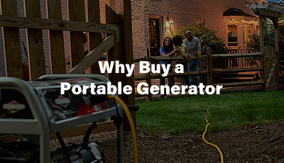 Why Buy a Portable Generators