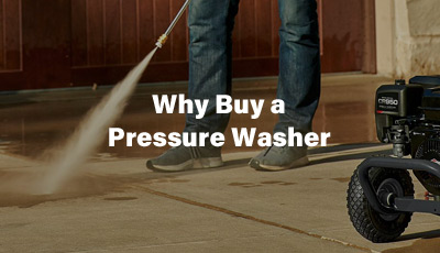 Why Buy a Pressure Washer