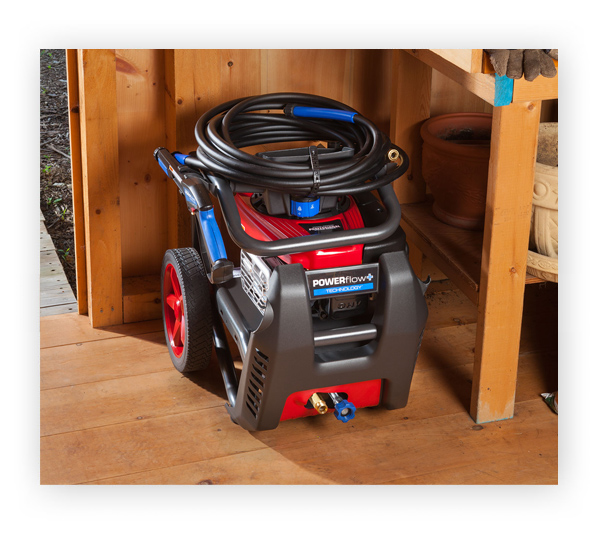 Pressure Washer Storage