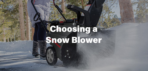 Choosing a Snow Blower