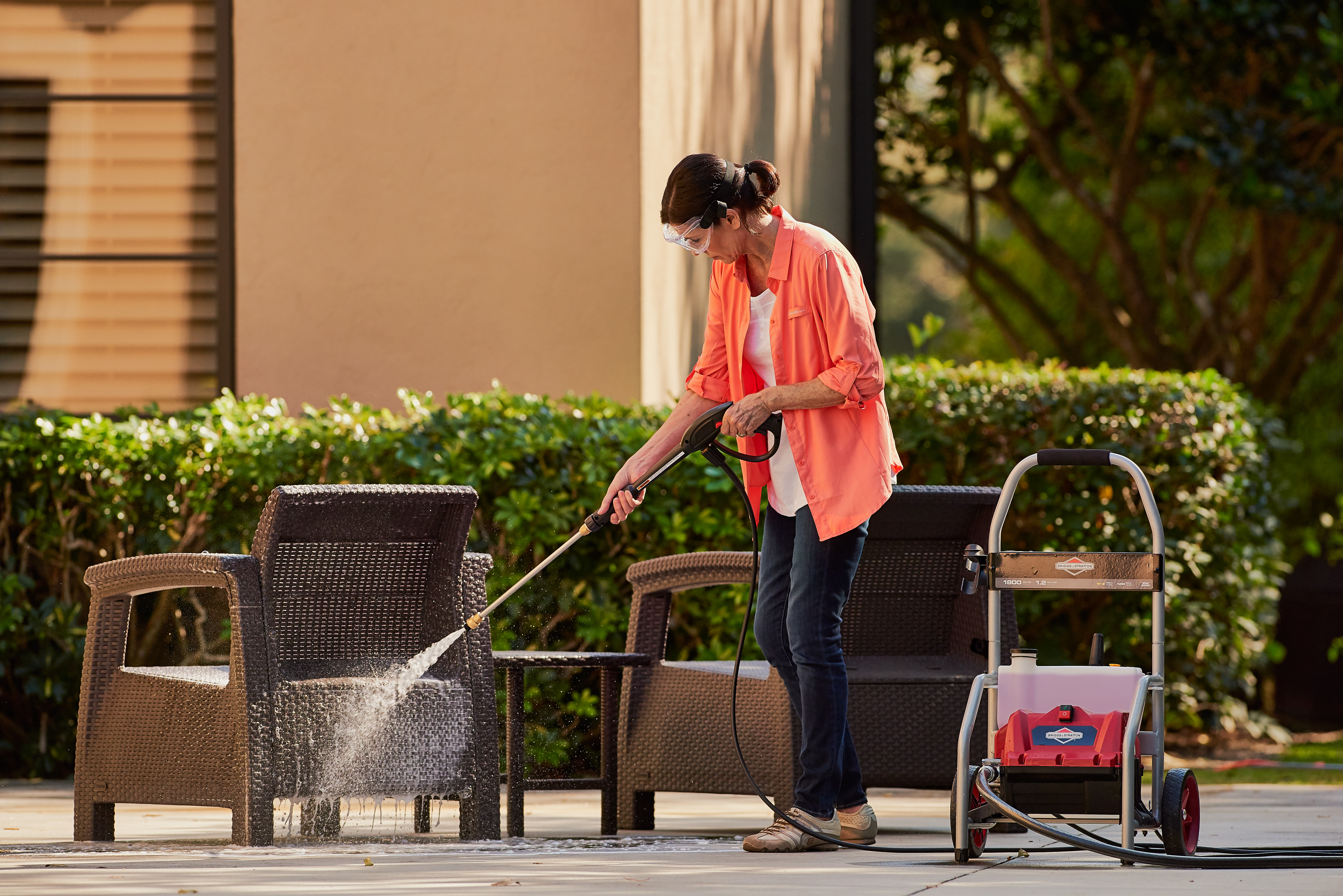 Outdoor Cleaning Information