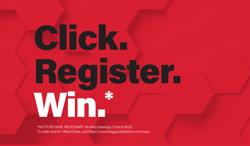 Enter into the Click. Register. Win Sweepstakes