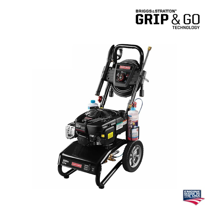 Briggs and Stratton Pressure Washer Grip and Go