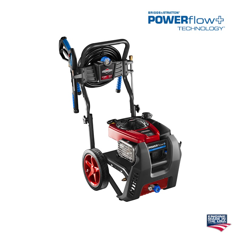 Briggs and Stratton Pressure Washer Power Flow Technology