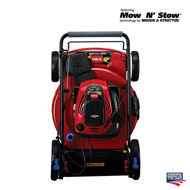 how to change oil briggs and stratton push mower
