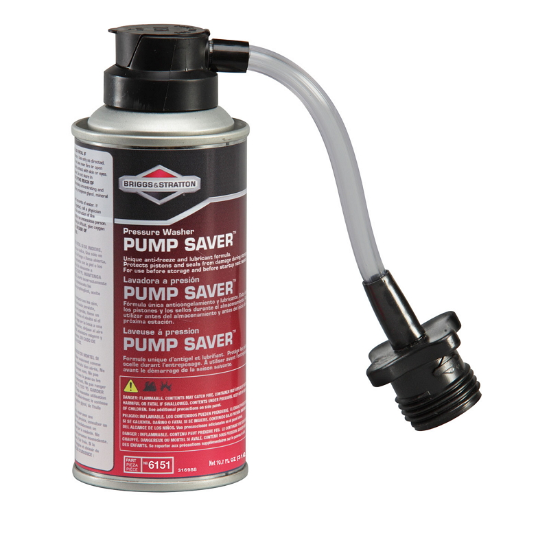Why is my pressure washer producing low or no pressure briggs pump saver 107 fl oz by briggs stratton sciox Choice Image