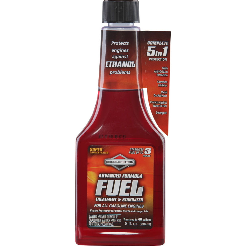 Advanced Formula Fuel Treatment & Stabilizer (8 Fl. oz.) by Briggs & Stratton