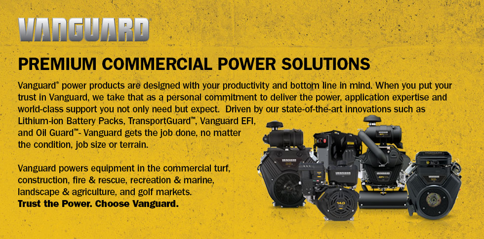 Vanguard Commercial Engines & Battery Power Solutions