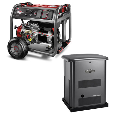 Browse Briggs & Stratton Generators