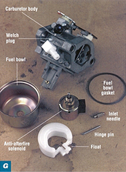 How to rebuild or repair a small engine carburetor | Briggs
