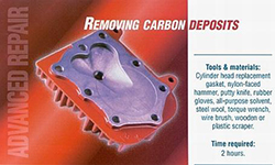 Removing Carbon Deposits in Small Engine by Briggs and Stratton