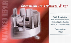 Requirement for flywheel replacement and inspection