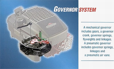 How does a small engine governor work? | Briggs & Stratton