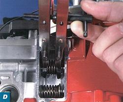 Réparation de petite soupape pour maintenance par Briggs and Stratton