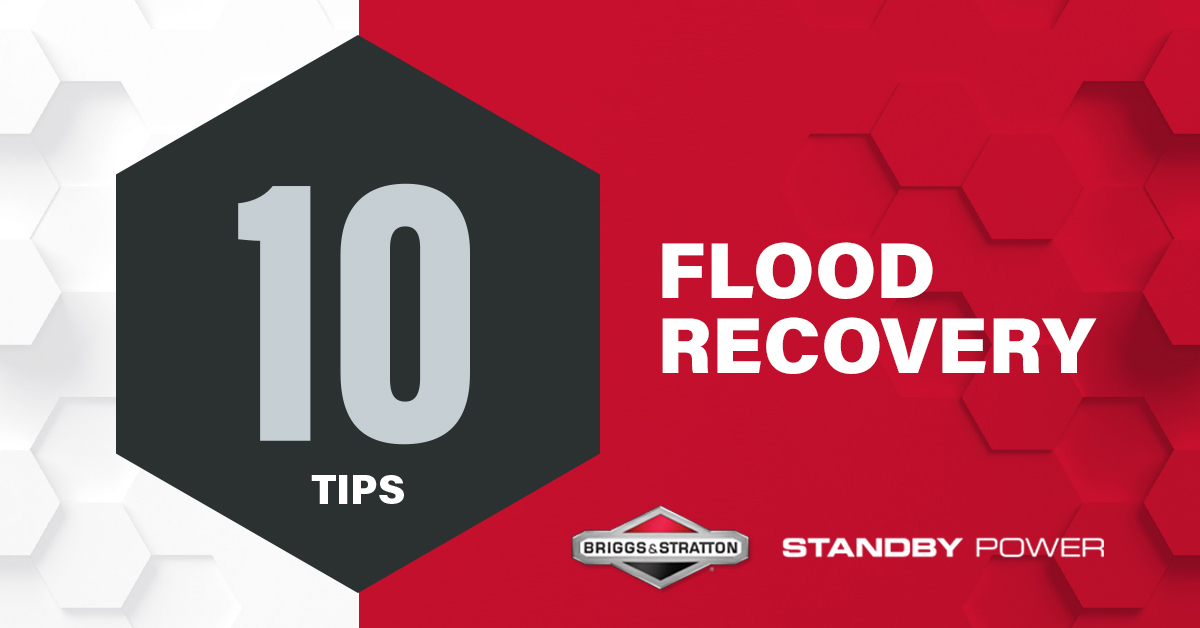 Top Ten Tips for Flood Recovery