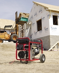 Portable Generator on the Job Site | Briggs & ...