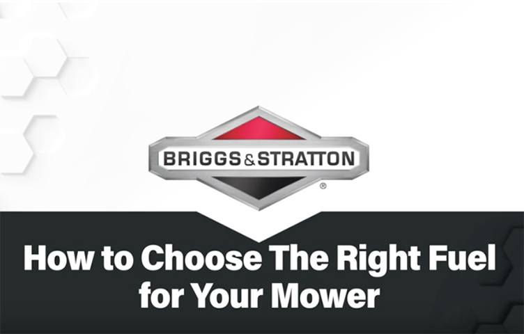 How to Choose Fuel for your Mower | Briggs & Stratton