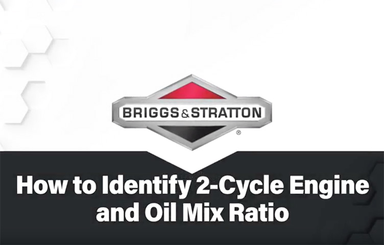 How to Identify 2-Cycle Engine and Oil Mix ...