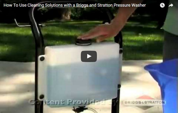 Lawn Mower Snow Blower >> Pressure Washer Cleaning Solutions | Briggs & Stratton