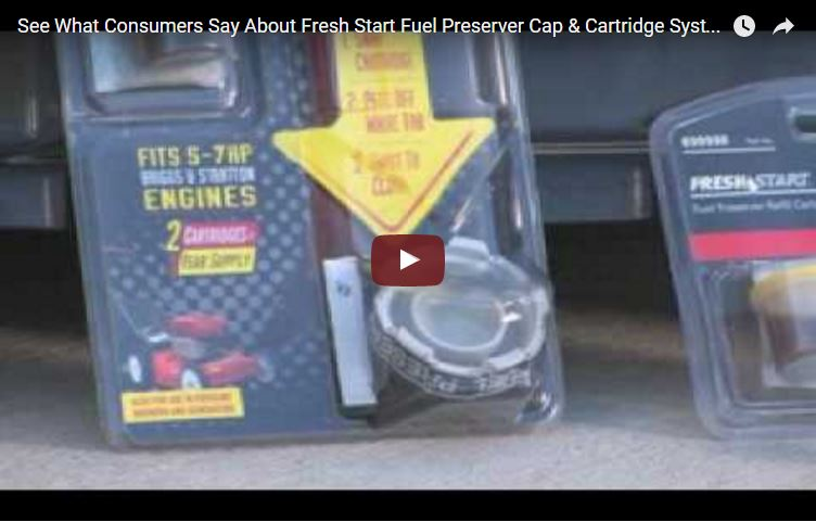 Fresh Start Fuel Preserver Cap and Cartridge System ...
