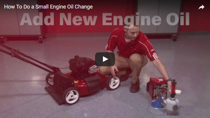 How To Do a Small Engine Oil Change | Briggs & Stratton