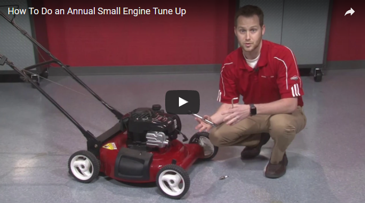How To Do an Annual Small Engine Tune Up | Briggs & Stratton