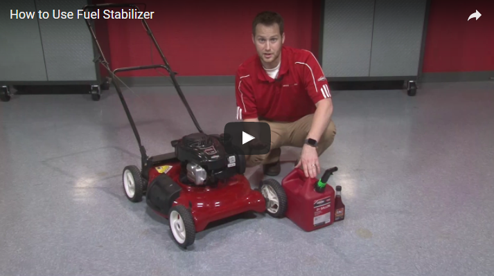 How to Use Fuel Stabilizer | Briggs & Stratton