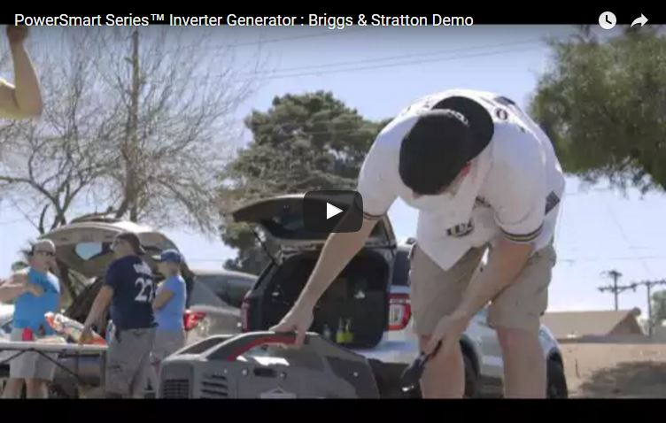 People Experience the PowerSmart™ Generator | Briggs & Stratton