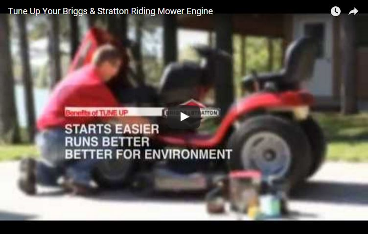 Riding Lawn Mower Engine Tune Up