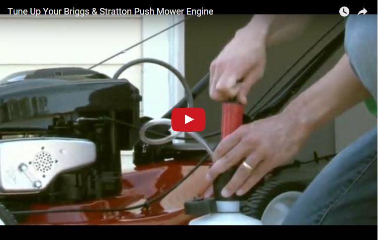 Tune Up Your Lawn Mower Engine   Briggs & Stratton