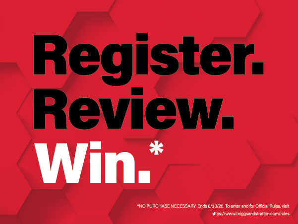 Enter into the Register. Review. Win Sweepstakes